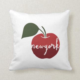 New York city | The Big Apple Throw Pillow