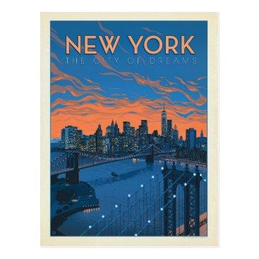 AndersonDesignGroup New York City | The City of Dreams Postcard