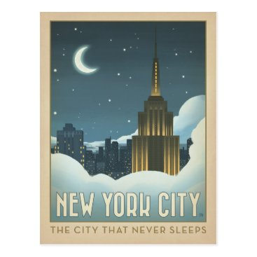AndersonDesignGroup New York City | The City That Never Sleeps Postcard