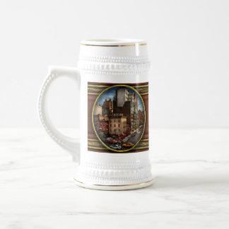 New York - City - The corner of 10th Ave & W 18th Coffee Mug