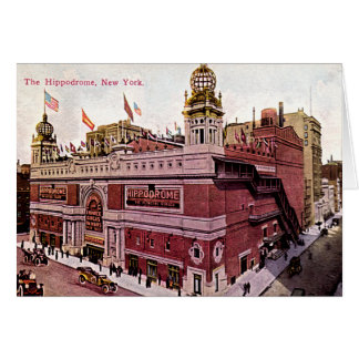 New York City The Hippodrome Card