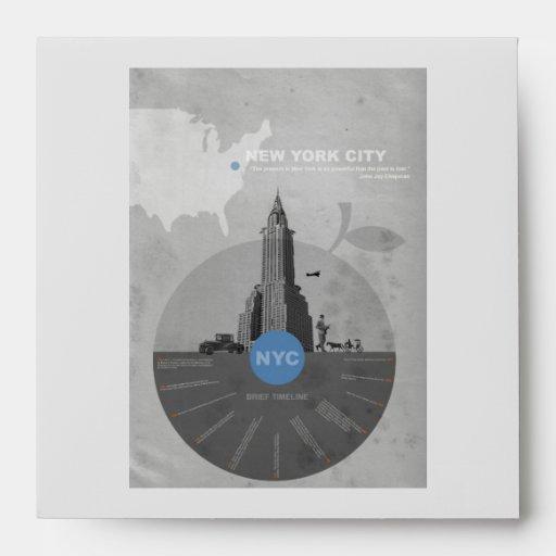 New York City theme Envelope