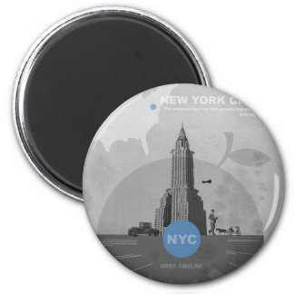 New York City theme Magnet
