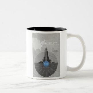 New York City theme Coffee Mugs