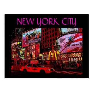 New York City (Times Sq.) Postcard