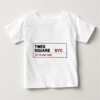 New York City Times Square Baby T-Shirt