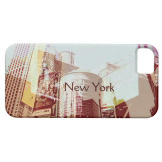New York City, Times square collage iPhone SE/5/5s Case