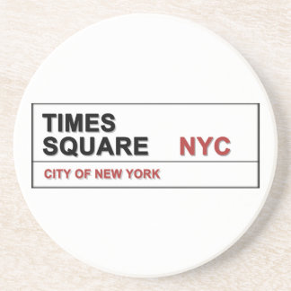 New York City Times Square Drink Coasters