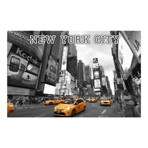 New York City - Times Square - los E.E.U.U. Papelería