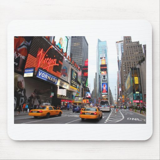 New York City Times Square Mouse Pads