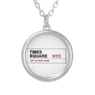New York City Times Square Personalized Necklace