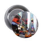 New York City Times Square Pinback Buttons