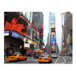 New York City Times Square Postcard