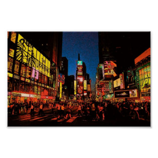 New York City Times Square Poster