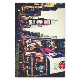 New York City Times Square Tissue Paper