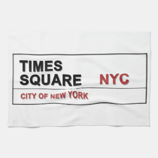 New York City Times Square Towels