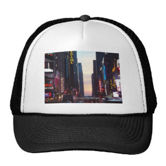new york city times square trucker hat