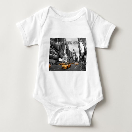 New York City - Times Square - USA Baby Bodysuit