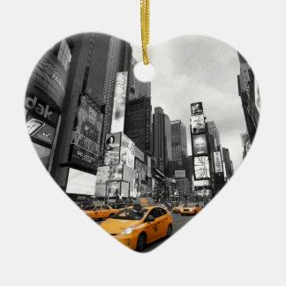 New York City - Times Square - USA Ceramic Ornament