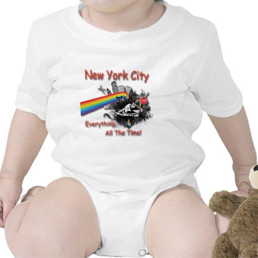 New York City todo el tiempo Trajes De Bebé