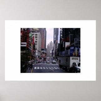 New York City Traffic Posters
