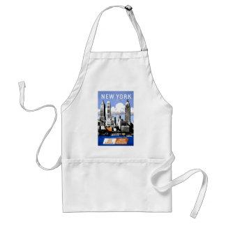 New York City Travel Adult Apron