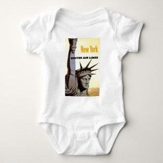 New York City Travel Baby Bodysuit