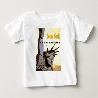 New York City Travel Baby T-Shirt