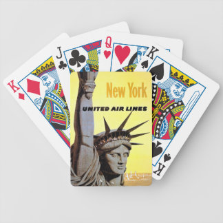 New York City Travel Bicycle Playing Cards