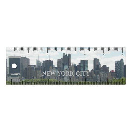 New York City Travel Photo Ruler