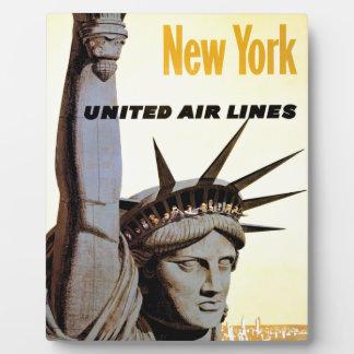 New York City Travel Plaque