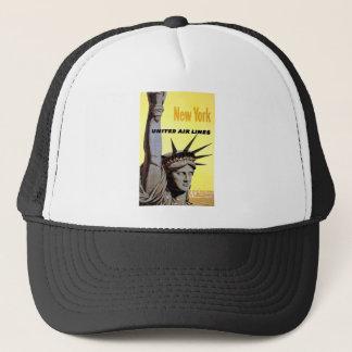 New York City Travel Trucker Hat