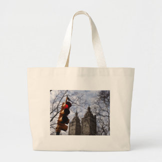New York City Trees & Traffic Lights Tote Bag