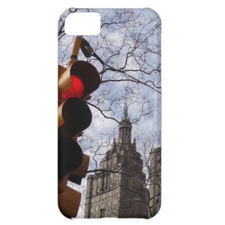 New York City Trees & Traffic Lights iPhone 5C Covers