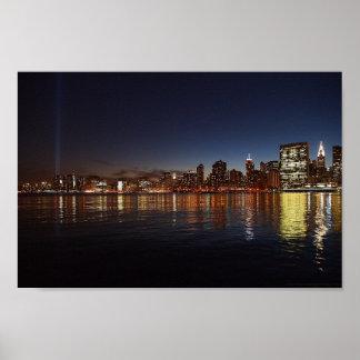 New York City - Tribute in Light Print