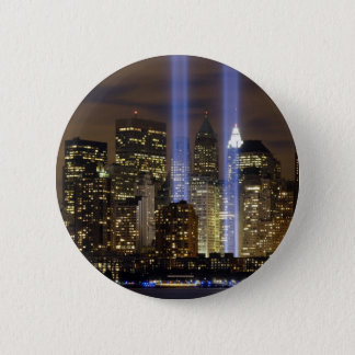 New York City Tribute Lights Pinback Button