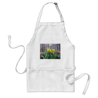 New York City Tulips Adult Apron