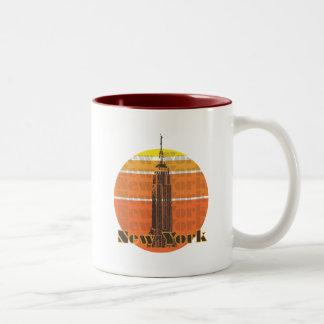 New York City Two-Tone Coffee Mug