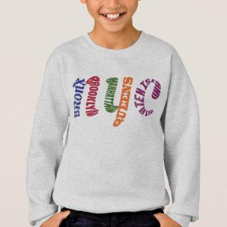 New York City Typographic NYC Initials Sweatshirt