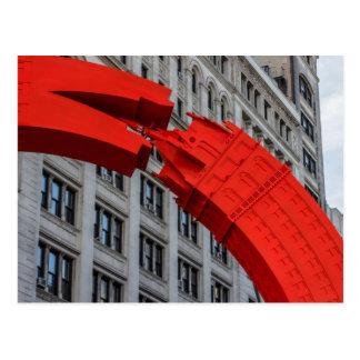 New York City Union Square Photo Postcard