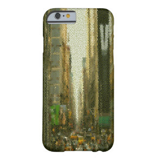 New York City Unique Popular Glass Abstract Barely There iPhone 6 Case