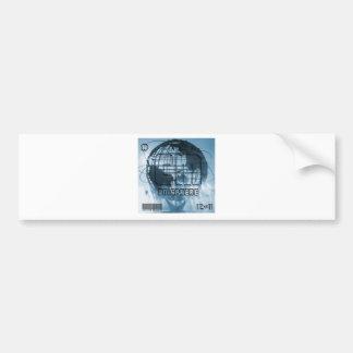 New York City Unisphere Globe Bumper Stickers