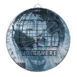 New York City Unisphere Globe Dartboards