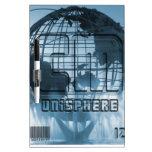 New York City Unisphere Globe Dry Erase Boards