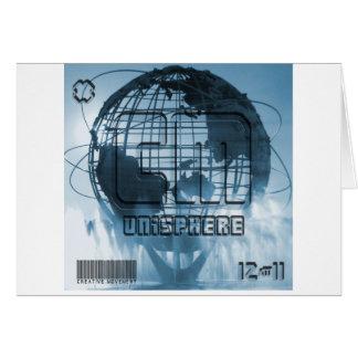 New York City Unisphere Globe Greeting Card