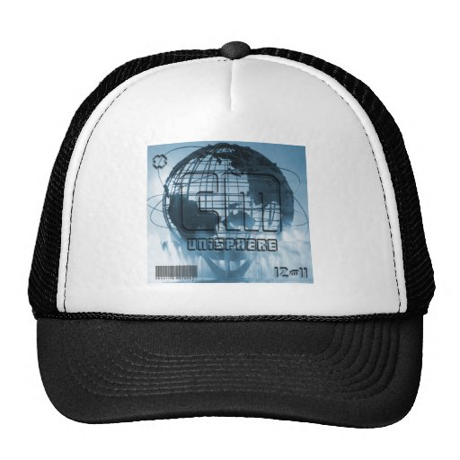 New York City Unisphere Globe Trucker Hats