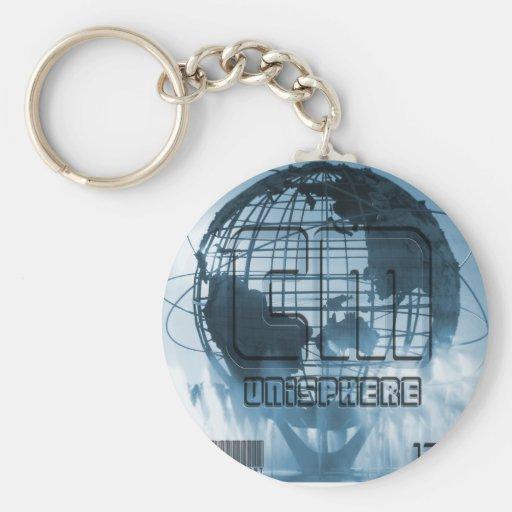 New York City Unisphere Globe Keychains