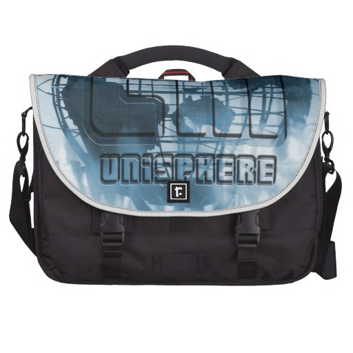 New York City Unisphere Globe Laptop Commuter Bag