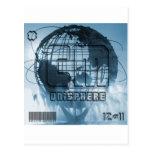 New York City Unisphere Globe Post Cards