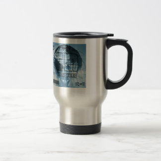 New York City Unisphere Globe Travel Mug